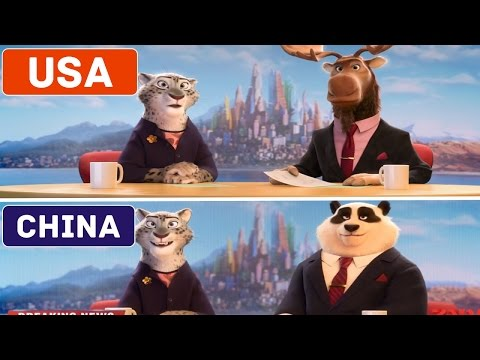 5 CARTOONS THAT LOOK DIFFERENT IN OTHER COUNTRIES