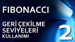 2- FIBONACCI GERİ ÇEKİLME SEVİYELERİ (RETRACEMENT)