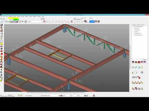 New/2 2016: Roof Frame Member and Part Library