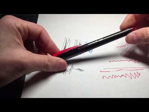 Uniball AIR review (rollerball pen) vs 207 and 307