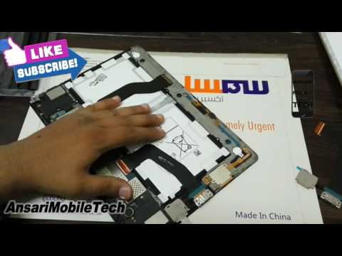 How to Disassemble Samsung Galaxy Tab S 10.5 LTE SM-T805