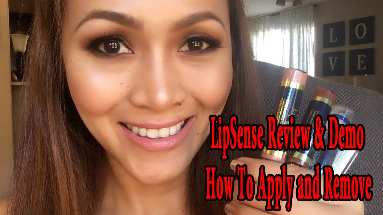 Removal And Lelu Love-Lipstick Application