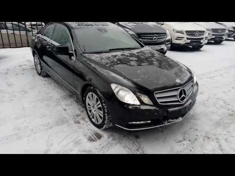 Купить Mercedes Benz Е класса купе 2012 года W212 черный бензин Москва, продан