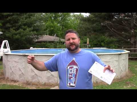 How to install an above ground pool - Start to finish