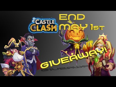 Castle Clash Account Giveaway! January 2017