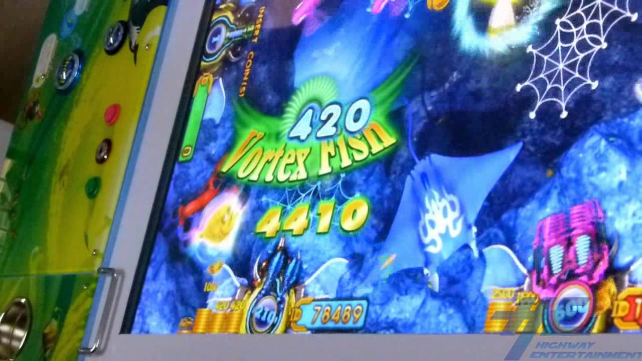 Ocean king fish arcade game gameplay 1 youtube for Fish arcade game