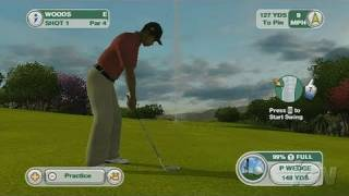 Tiger Woods PGA Tour 09 All-Play Nintendo Wii Review -