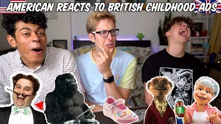 American Reacts to British Childhood Ads | Evan Edinger