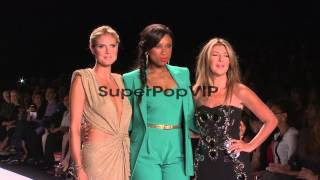 Heidi Klum Jennifer Hudson And Nina Garcia At Project Ru