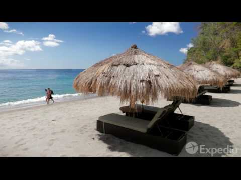 Travel guide to St Lucia in the Caribbean