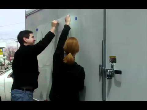 How To Install Vinyl Graphics By A Minneapolis Sign Company: Signs By Tomorrow Richfield