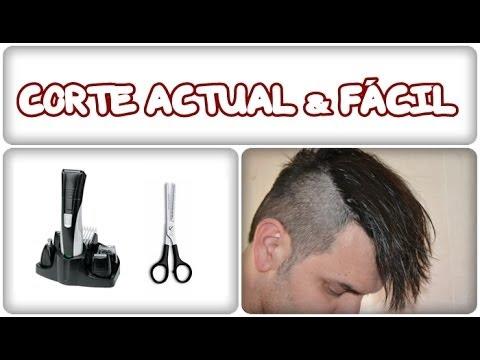 Corte de cabello tipo skrillex