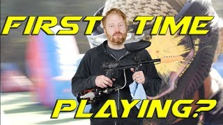 Tips for first time playing paintball  ||  Part 1