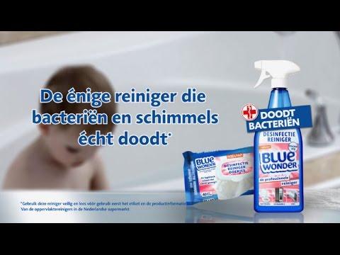Blue wonder - Tegen Schimmel - YouTube