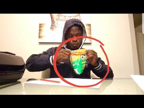 When you open hot cheetos in class