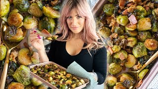 You Will Never Cook BRUSSELS SPROUTS the same!
