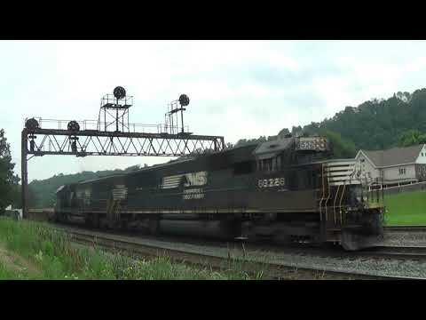 Railfanning between Cassandra and Altoona PA w/ PRR CPL's, AMTK 145 and NS 4005 7/28/17