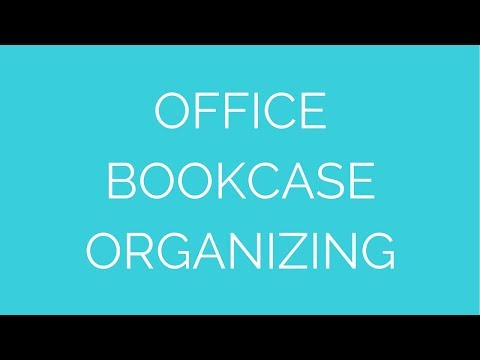 Ask the Organizer: Organizing a Bookcase