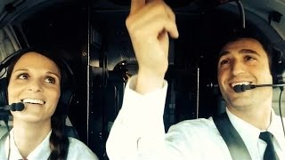 "Good Looking Pilots sing ""Love is an Open Door"" from Frozen"