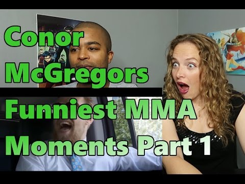 Conor McGregors Funniest MMA Moments Part 1 (Reaction 🔥)