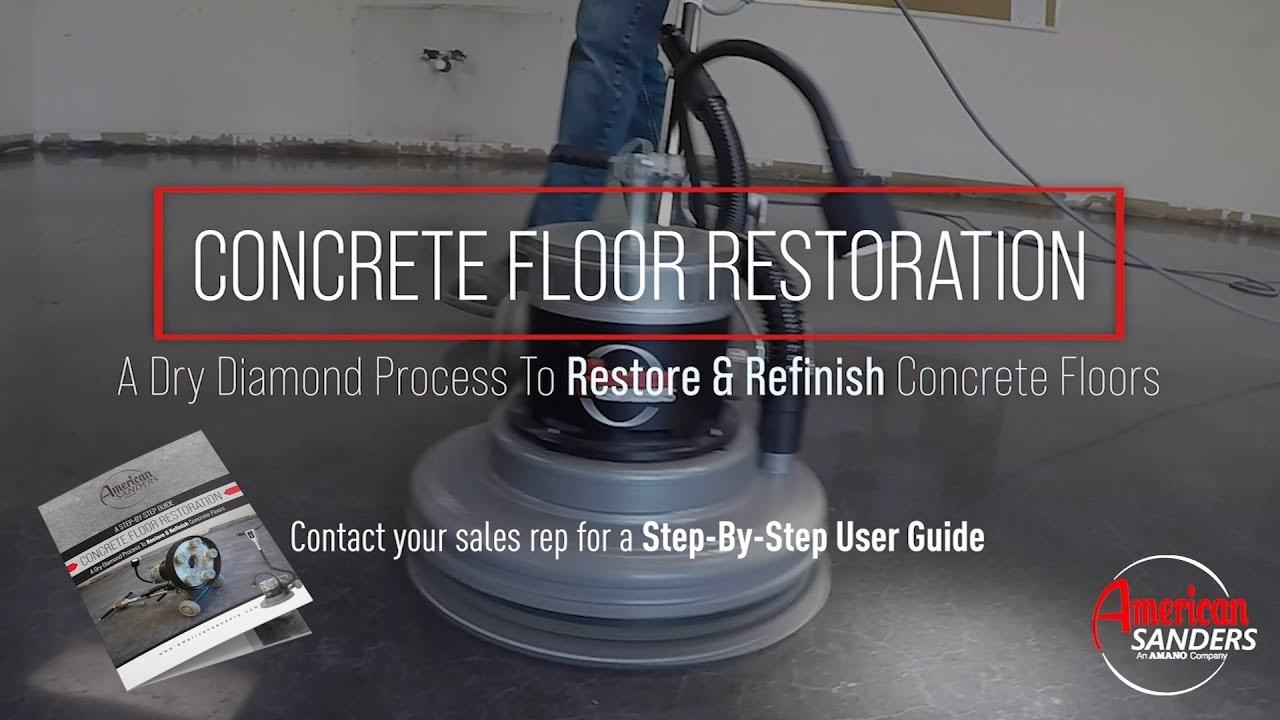 Concrete Floor Restoration Process