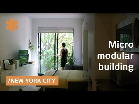 NYC's micro-modular, Minecraft-era building rises in 1 month