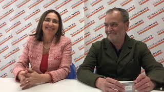 Gianna Gancia, candidata alle Europee, e il marito sen. Roberto Calderoli thumbnail