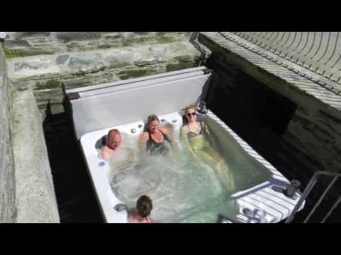Ta Mill Hot Tub and Swim Spa - For a Relaxing Holiday in Cornwall