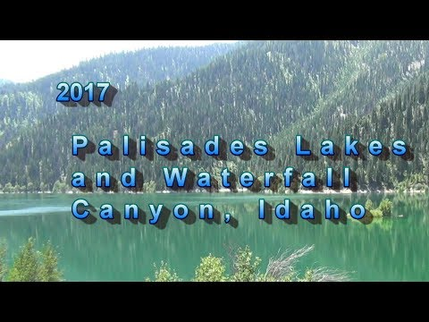 2017 Palisades Lakes And Waterfall Canyon, Idaho With YouTube Stabilizer