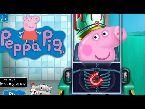 Peppa Pig Games To Play - Peppa Pig Surgeon - Online Game For Kids