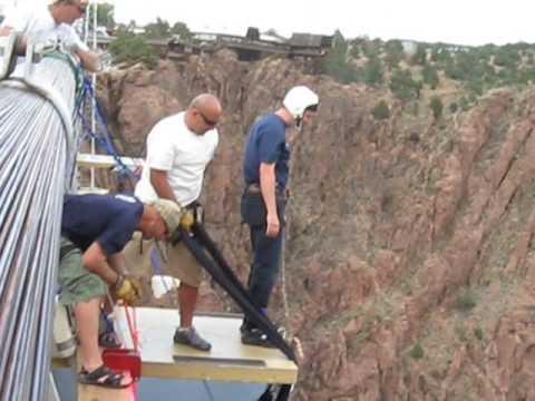 2008 Royal Gorge bungee jump