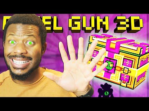I SPENT 25,000 KEYS ON ALIEN SUPER CHEST👽! L Pixel Gun 3D