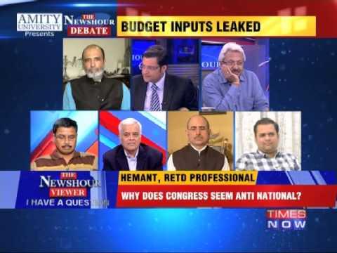 The Newshour Debate: Corporate Espionage - Delhi's Worst Kept Secret - Part 2 (20th Feb 2015)