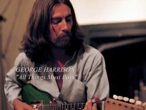GEORGE HARRISON -  All Things Must Pass (with lyrics)