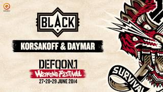 The colors of Defqon.1 mixes | Black by Korsakoff & Daymar
