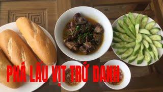 Hướng dẫn làm Phá Lấu Vịt 10k bán gần 40 năm ở Bùi Minh Trực Sài Gòn | HA NGUYEN TV