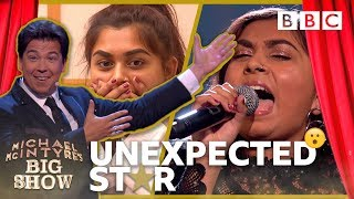 Unexpected Star: Sanjna - Michael McIntyre's Big Show: Episode 3 - BBC One