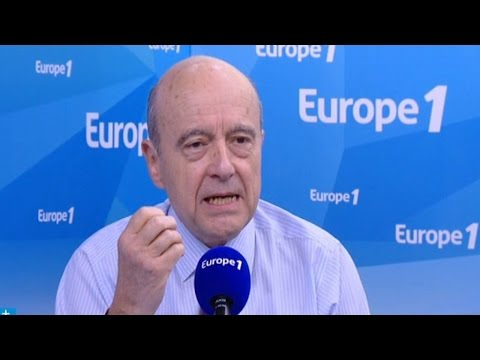 Alain Juppé face aux Experts d'Europe 1