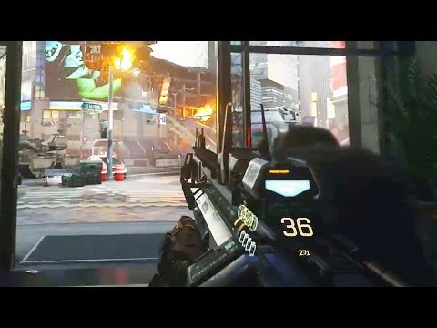 "Call of Duty: Advanced Warfare Gameplay! E3 2014 COD AW ""INDUCTION"" Singleplayer Trailer"