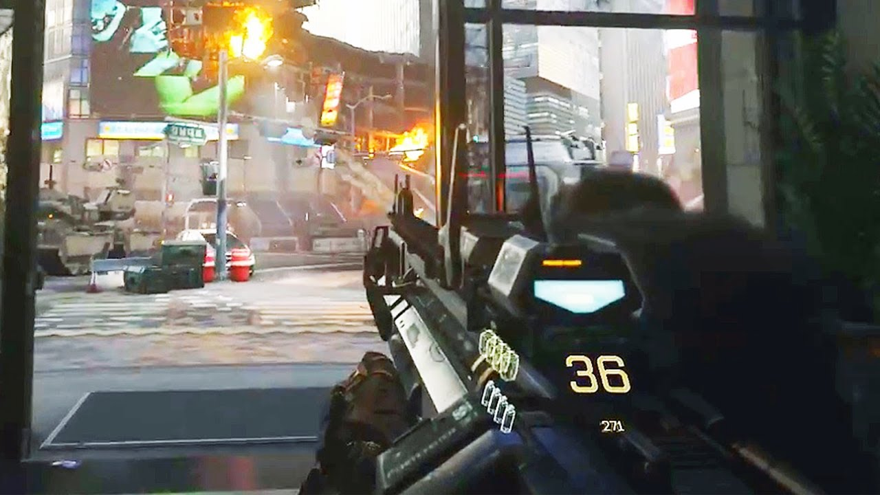 Call of Duty: Advanced Warfare Gameplay! E3 2014 COD AW ...