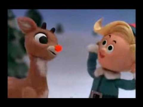 Rudolph the Red-Nosed Reindeer - Burl Ives (Music Video)