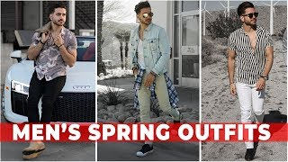 3 EASY SPRING OUTFITS FOR MEN 2018 | Men