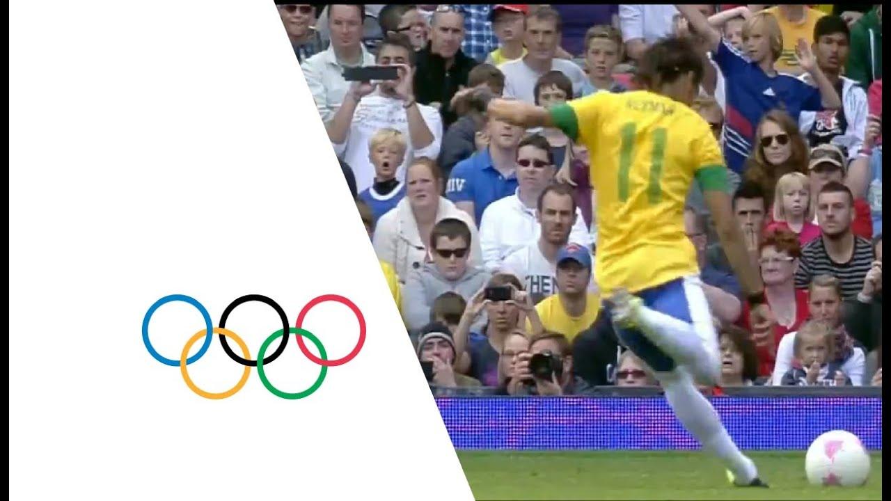 Brazil 3-1 Belarus - Men's Football Group C | London 2012 ...
