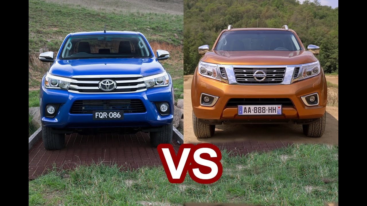 2016 toyota hilux revo vs 2016 nissan navara np300. Black Bedroom Furniture Sets. Home Design Ideas
