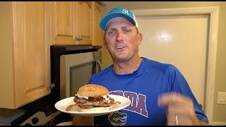 Best Burger in the ENTIRE WORLD!!! TASTY TUESDAY!!!!! Ft. Whitebone Creations