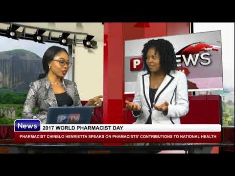 2017 WORLD PHARMACIST DAY: Pharm. Chinelo speaks on pharmacists' contributions on national health