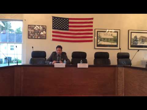 Del. Scott Surovell Debates Empty Chair, as Republican Opponent Doesn't Show Up