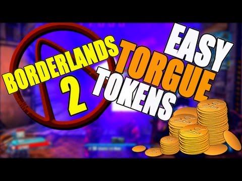 borderlands 2 how to get torgue tokens fast