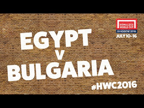 Egypt v Bulgaria | Second Stage Group D #HWC2016