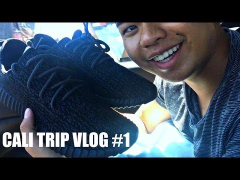 Travel Vlog #1 HE BOUGHT YEEZYS!?